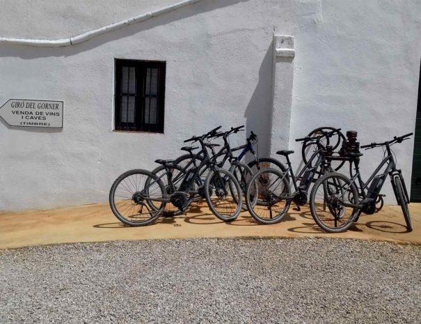 Bike rental winery barcelona