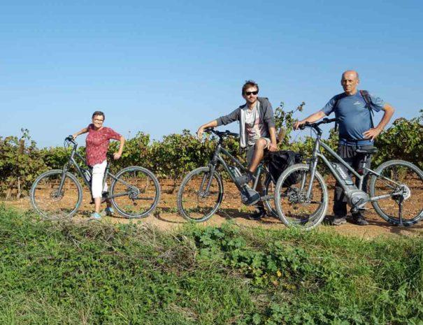 Bike tour wine barcelona