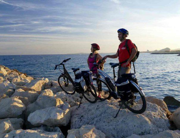 Tour privé à vélo Sitges