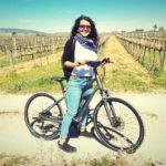 vinedo bicicleta alrededor barcelona
