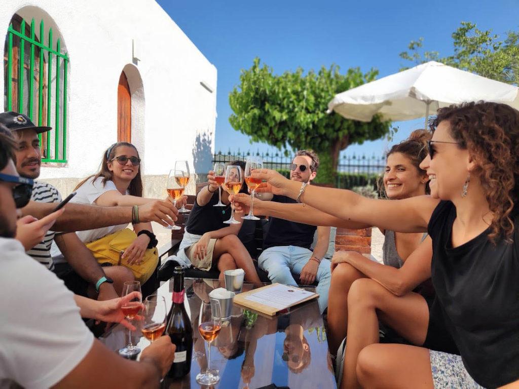 Winery visit around Barcelona